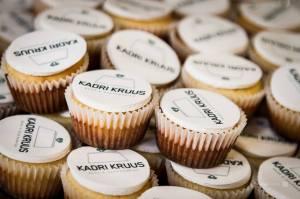Logoga suupiste muffinid