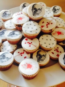 halloweeni muffin