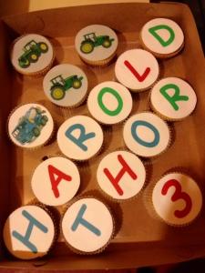 muffinid sünnipäevalapsele