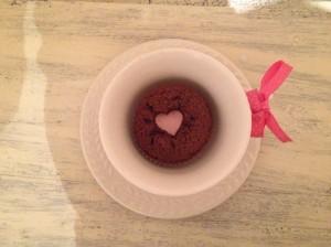 muffin südamega