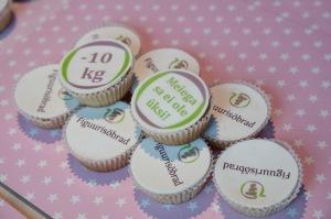 Maitsvatel muffinitel logo ja slogan